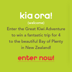 Win a trip to New Zealand - Travel contest